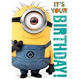 Despicable Me General Birthday Sound Card