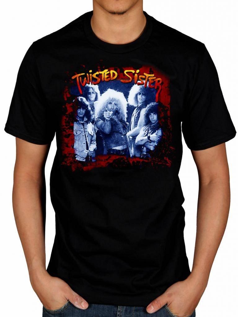 Twisted Sister I Wanna Rock T Shirt Heavy Metal Rock Band