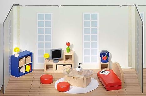 Mobili Per Casa Delle Bambole : Casa delle bambole con mobili fatti a mano in legno casa fai da te