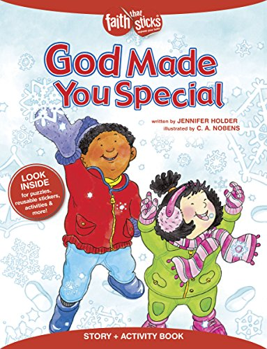 God Made You Special Story + Activity Book (Faith That Sticks Books) - Lives That Made A Difference