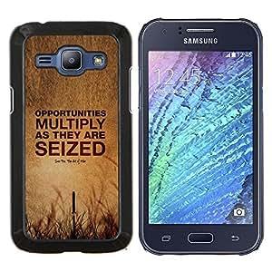 YiPhone /// Prima de resorte delgada de la cubierta del caso de Shell Armor - apoderarse cotización verano oportunidad profunda - Samsung Galaxy J1 J100