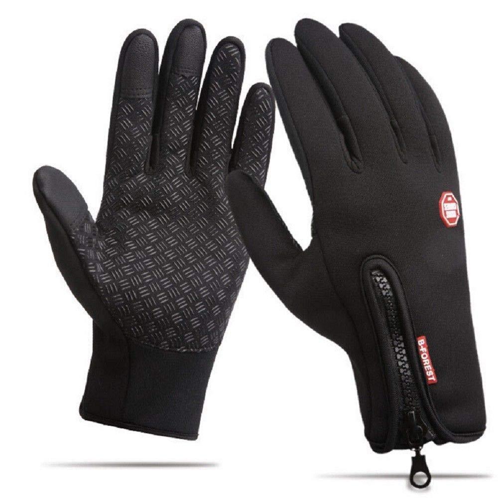 Lovearn Touchscreen Handschuhe - Radfahren Handschuhe Outdoor Sport Fahrradhandschuhe Wasserdicht und Winddicht Ajustable Größe Für Herren und Damen Laufen Fahren Skifahren Skating Klettern