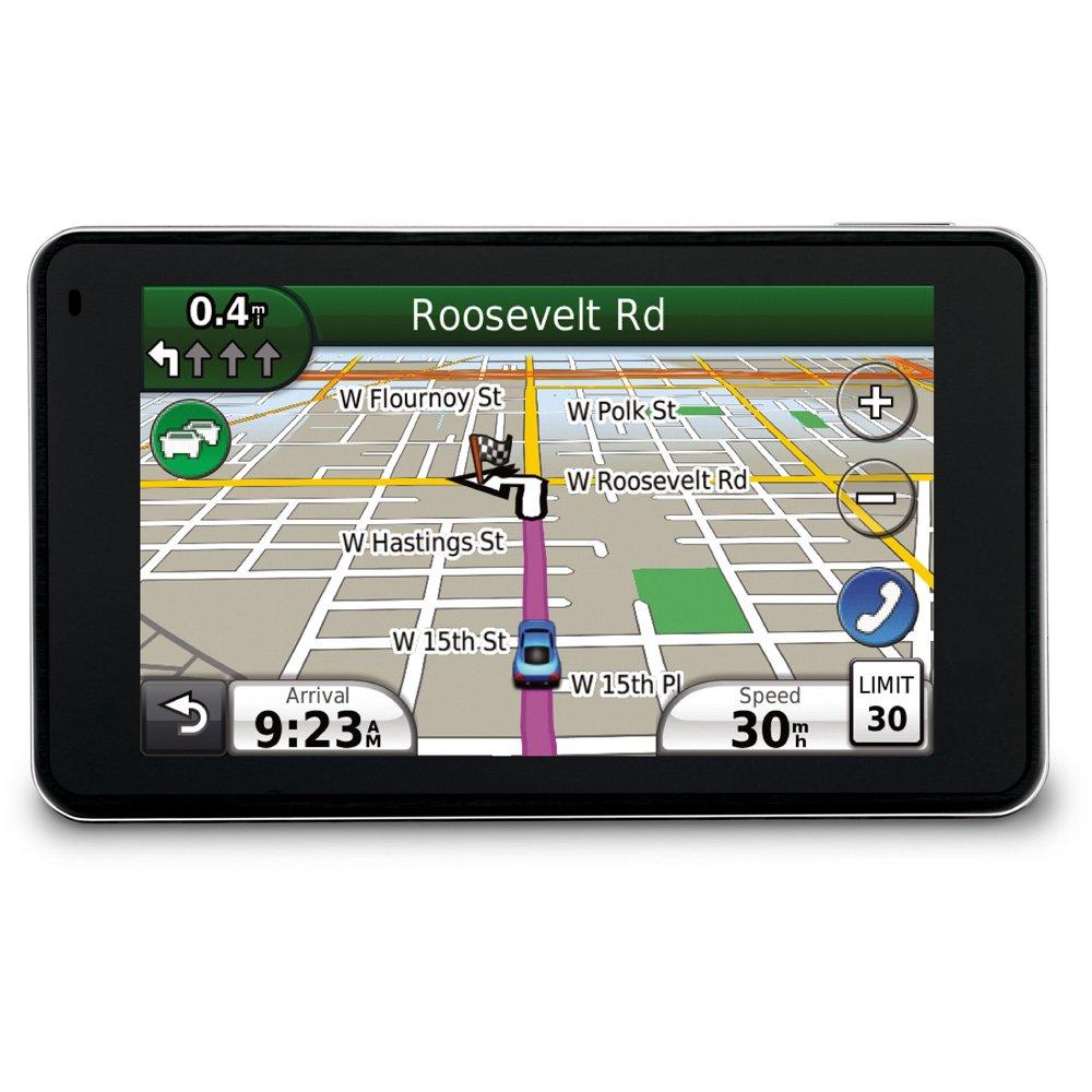 Amazon com garmin n vi 3760lmt 4 3 inch widescreen bluetooth portable gps navigator with lifetime map traffic updates home audio theater