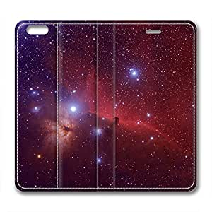 Orion and Dark Nebula Design Leather Iphone 6 Plus Case Twinkle Stars