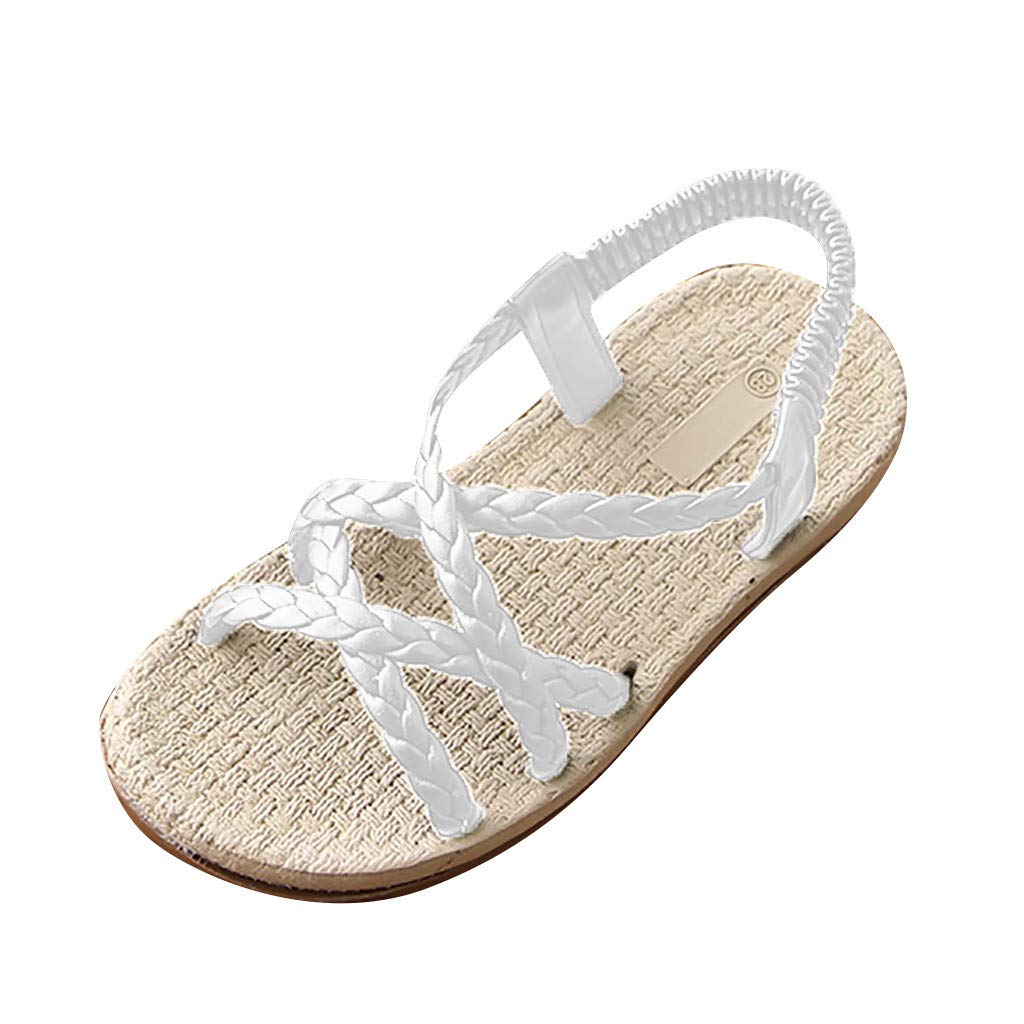Baby Girls Sandals 2019 Baby Beach Sandals Sneaker Toddler Children Weave Solid Shoes Baby Girls Beach Sandals