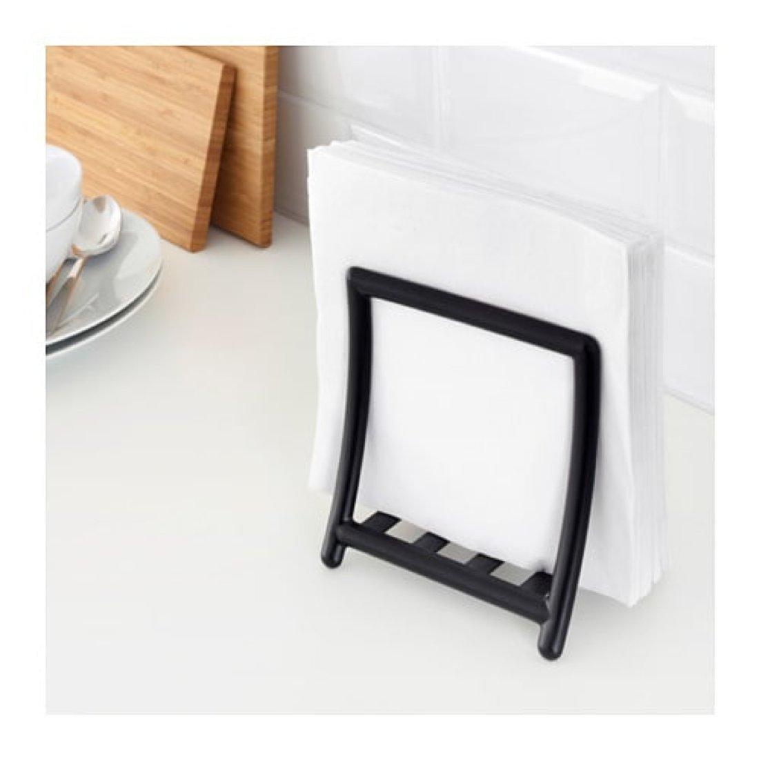 Ikea Greja Napkin Holder Black 503.428.50