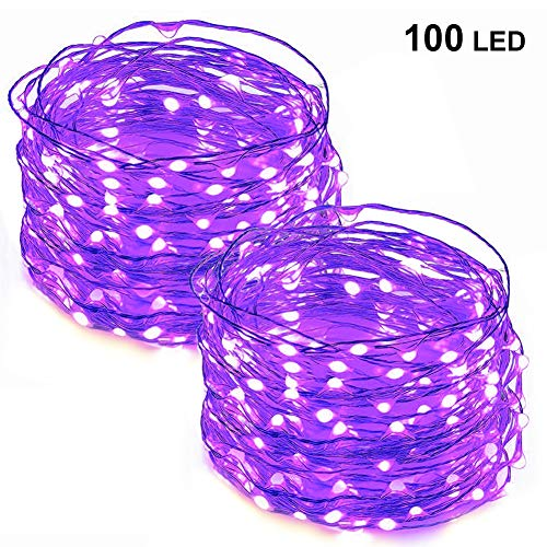 Purple Led Holiday Lights in US - 6
