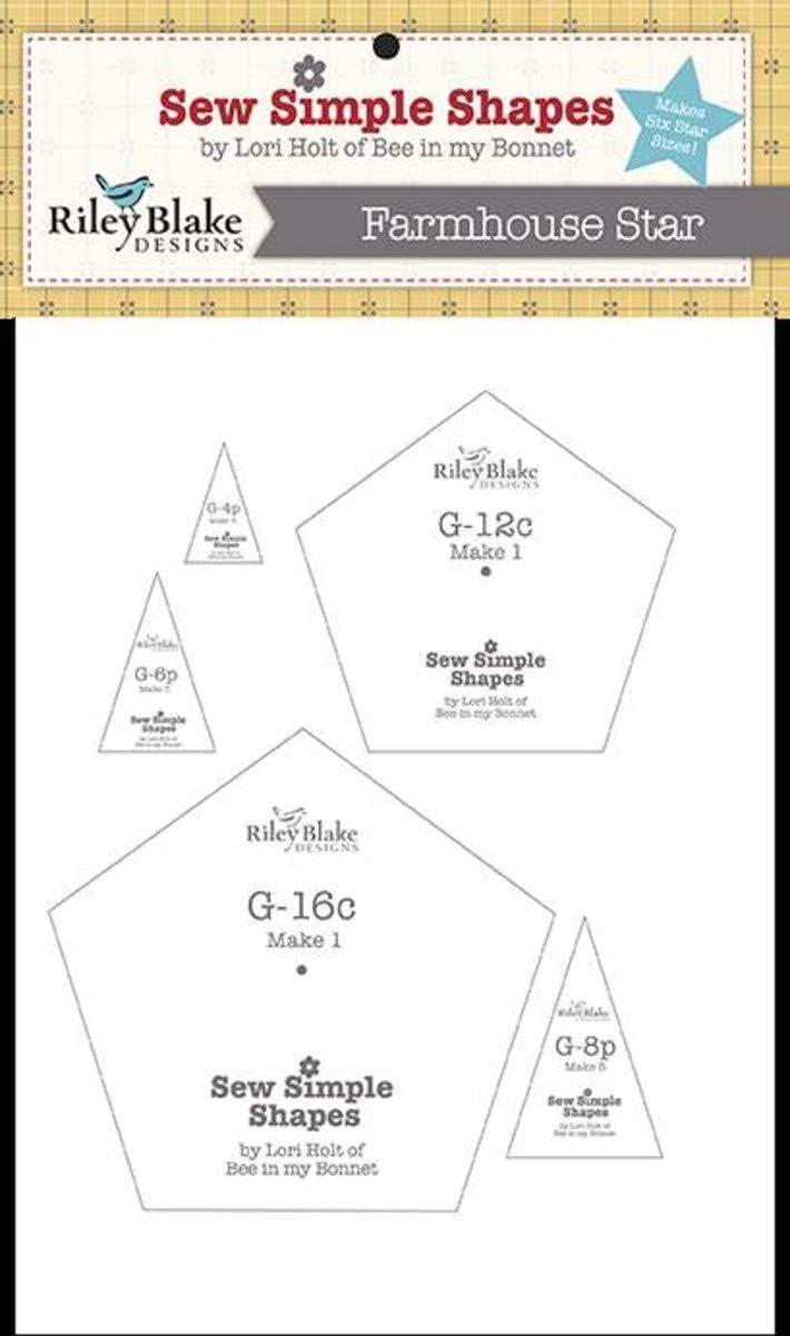 Lori Holts Sew Simple Shapes Farmhouse Star