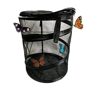 Insetto e farfalla Habitat Net gabbia per animali gigante terriccio pieghevole pop-up impianto di coltivazione serra rettile scatola di alimentazione