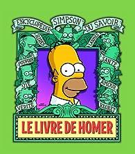 Le livre de Homer par Matt Groening
