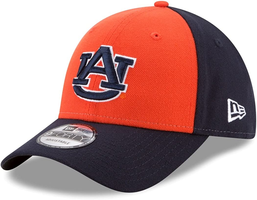 New Era Auburn Tigers NCAA 9Forty The League Blocked Adjustable Hat