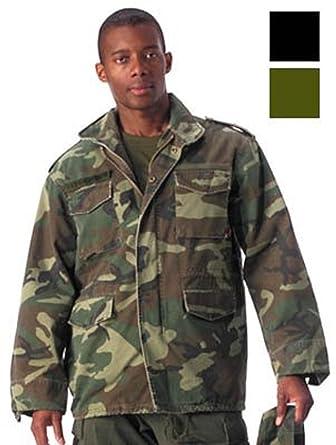 Amazon.com  Authentic Military Vintage M-65 Field Jacket ee489431c