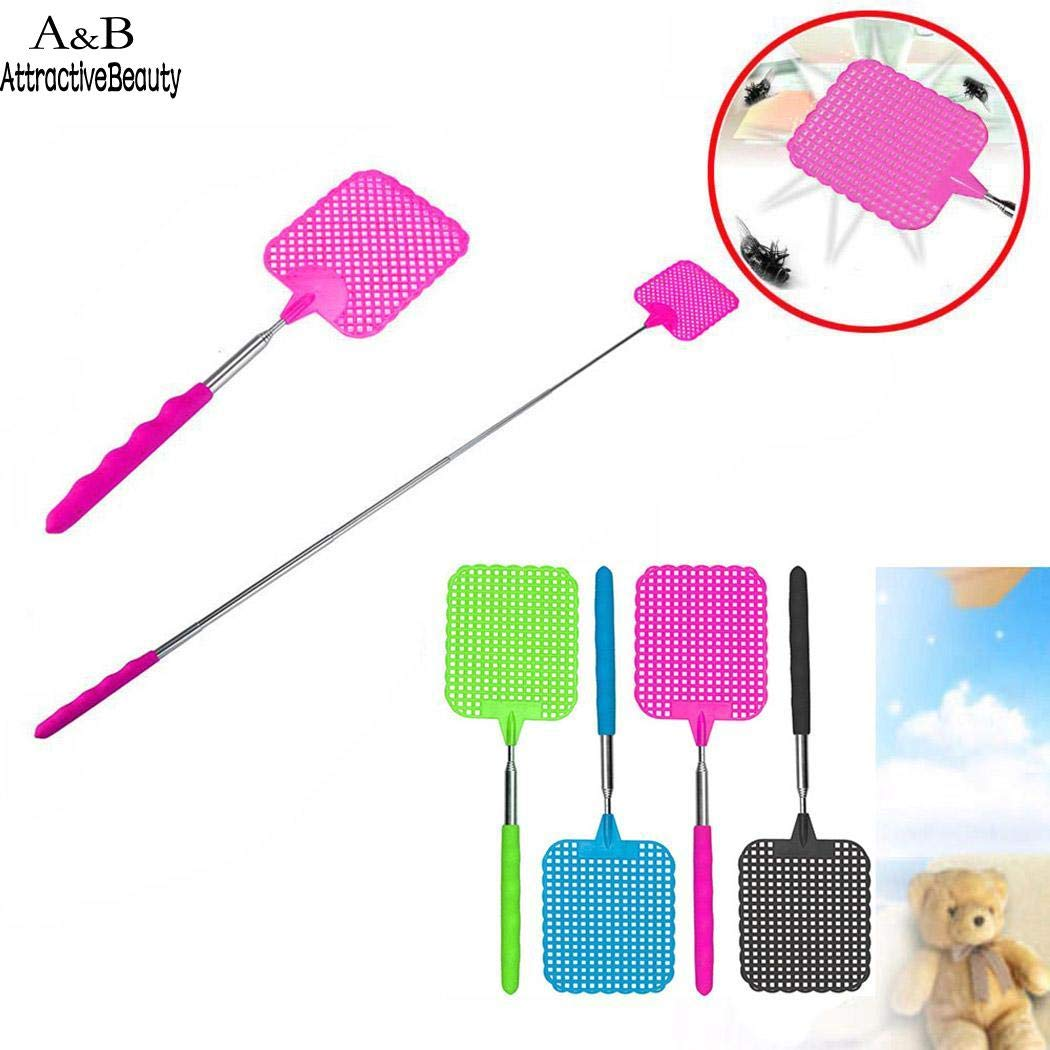 TOSHUN 1PCS elescopic Mosquito Killer Portable Insect Pest Fly