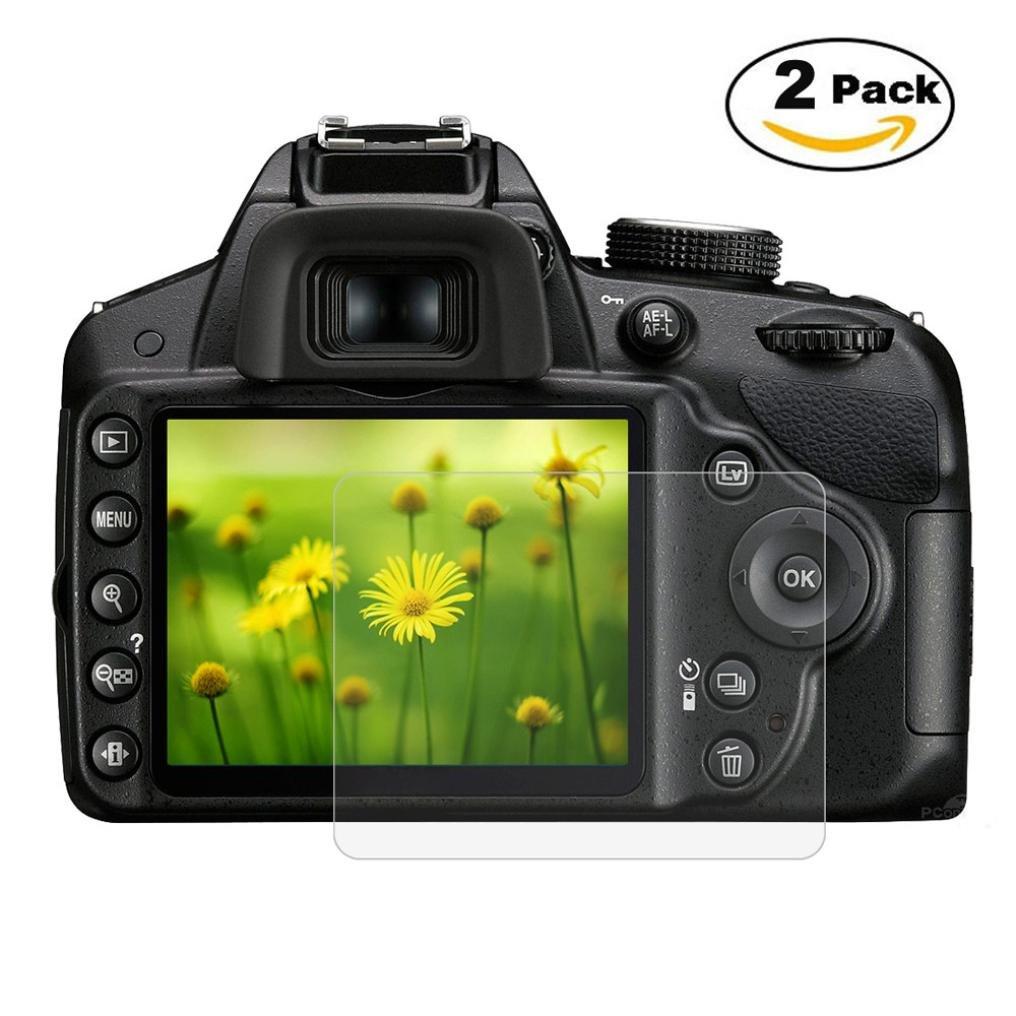 Bescita 9H - Protector de pantalla para cámara Nikon D3200 D3300 ...