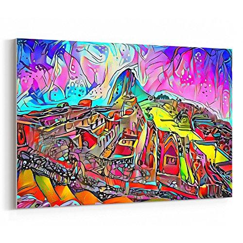 Westlake Art - Canvas Print Wall Art - Machu Picchu on Canvas Stretched Gallery Wrap. Ready to Hang - 18x12 inch ( fe619 (Inca Wrap)