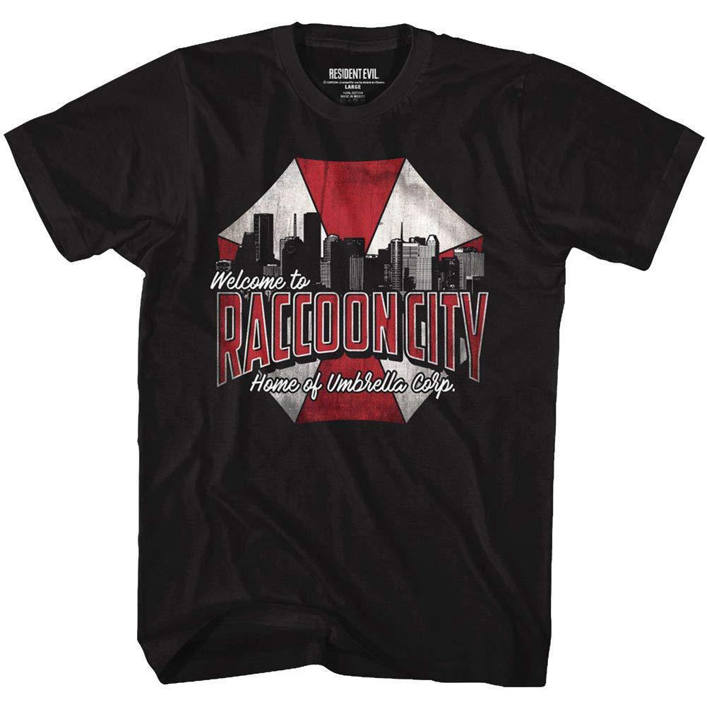 Resident Evil Horror Syfy Sci Fi Film Video Game Raccoon City Adult Shirts