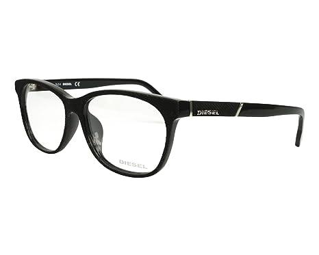 Amazon.com: Diesel Rx Eyeglasses Frames DL5144-D 005 58-16-150 Black ...
