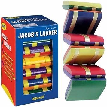Jacobs escalera de madera Fidget Visual estimulación juguete de viaje necesidades especiales autismo: Amazon.es: Juguetes y juegos