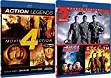 Action 6-Movie Bundle Set - Vertical Limit, Stealth, Attack Force, Into the Sun, Universal Soldier & Second Command Blu-ray Bundle