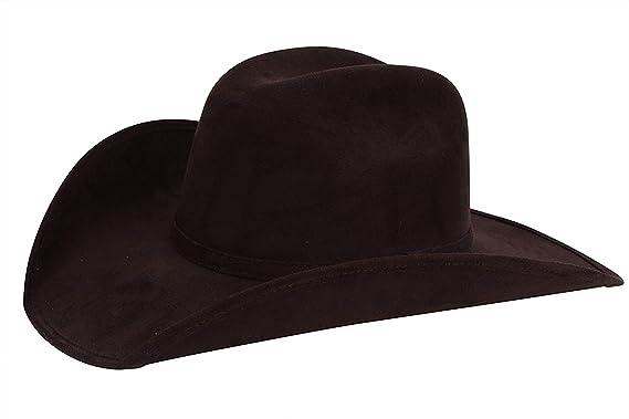 59eb7343 Enimay Faux Felt Western Style Pinch Front Straw Canvas Cowboy Cowgirl  Straw Hat (Small