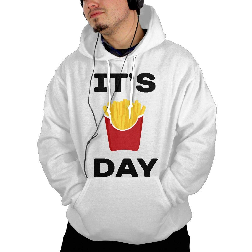 SweatMT05 Its Fry Day French Fry Day-1 Mens Hoody New\r\n Fleeces with Kanga Pocket