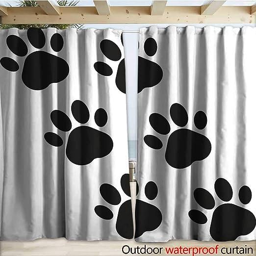 Amazon.com: warmfamily - Cortina impermeable para exteriores ...
