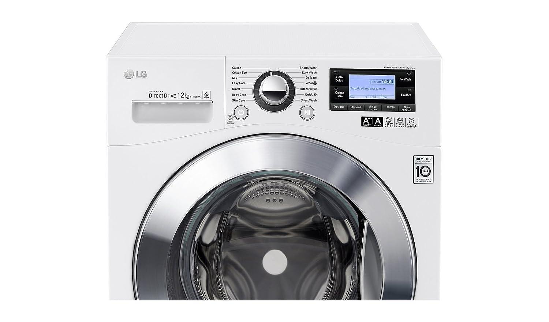 Lg f 1495 bda frontlader waschmaschine a 12 kg 1400 upm