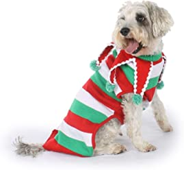 cbe9b774676 Tipsy Elves Dog Ugly Christmas Sweater - Funny Tacky Xmas Sweater for Big    Small Dogs