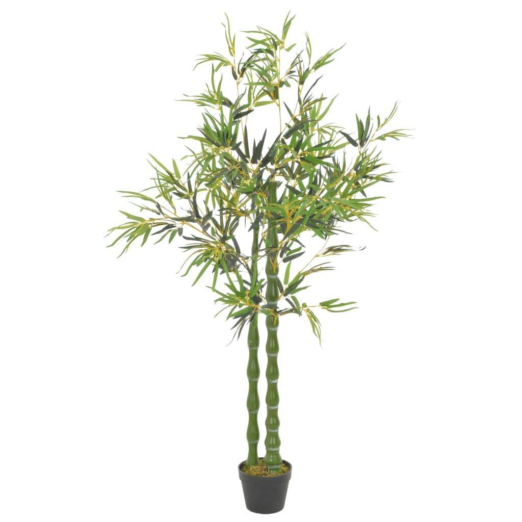 Tidyard Plante Artificielle Exterieur//Interieur Plante Artificielle en Pot Laurier Vert 40 cm