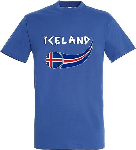 Supportershop – 8 Camiseta Islandia niño 8 para niño, Azul Royal, FR: L (Talla Fabricante: 8 años): Amazon.es: Deportes y aire libre