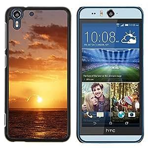 Queen Pattern - FOR HTC Desire EYE M910x - Sunset Beautiful Nature 49 - Cubierta del caso de impacto con el patr???¡¯???€????€?????n Art De
