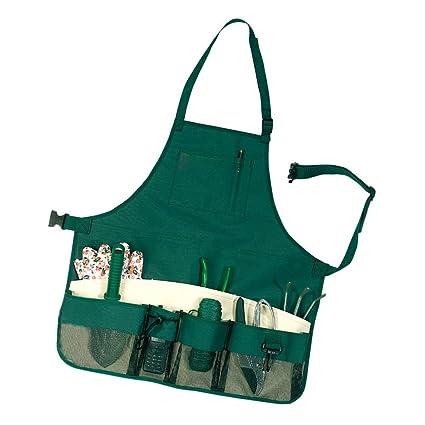 Amazon.com : ACTLATI Multi-purpose Garden Tool Apron with ...