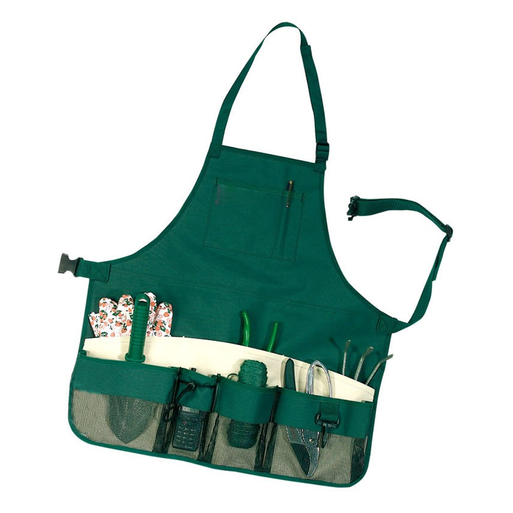ACTLATI Multi-purpose Garden Tool Apron with Multifunction Pockets Waterproof Wear-resistant Professional for Garden Workers Cleaner