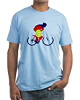 CafePress - Colorado Cycling - Fitted T-Shirt, Vintage Fit Soft Cotton Tee
