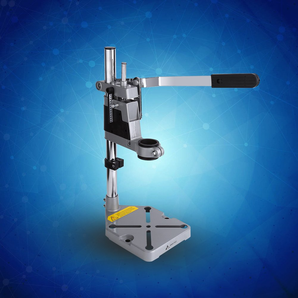 Yosoo Drill Stand Holder, Adjustable Bench Clamp Drill Press Stand Workbench Repair Tool for Drilling Collet Workshop Universal by Yosoo (Image #9)