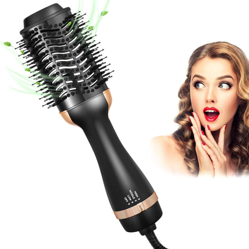 Hair Dryer Brush in One, One Step Hair Dryer & Volumizer Brush Hot Air Brush Styler & Dryer for Straightening, Round Brush Blow Dryer, Brush Hair Dryer Gift for Women/Girlfriend/Mother's Day