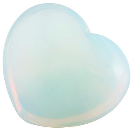 mookaitedecor Lapis Lazuli C/œur Pierre Meditation Lithoth/érapie,Reiki C/œur Decoration pour Gu/érison des Cristaux Anti Stress,Lot de 10