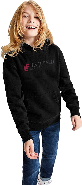 PANZHIHUA Kids Pullover Hoodie Big Pockets Plus Velvet Lined Pretty Hooded Sweatshirt for Teen Girls Boys
