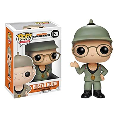 Funko POP Television: Arrested Development Buster Bluth Good Grief Vinyl Bobble Head: Funko Pop! Television:: Toys & Games