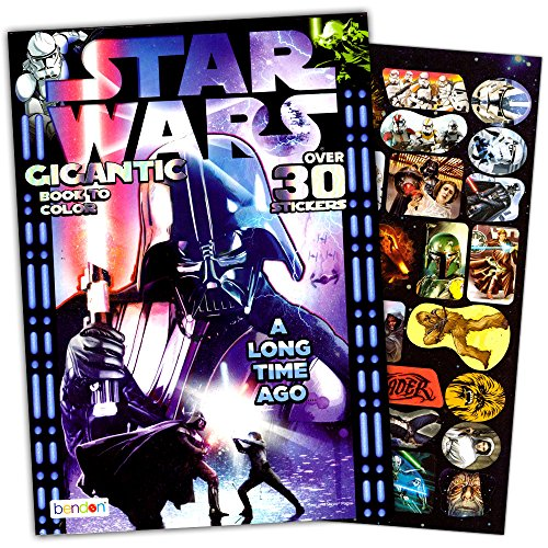 Star Wars Coloring Book for Adults -- 224 Pages Featuring Classic Trilogy Designs (Over 400 Stress Relieving Patterns) -