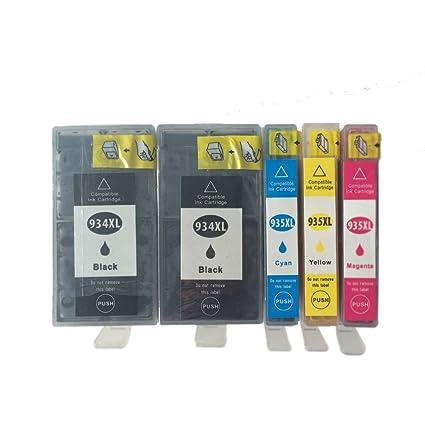 oyat® HP 934 X L & HP 935 X L 5 Compatible cartuchos de ...