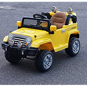 Amazing-12v-Style-Wrangler-Jeep-Battery-Operated-Ride-on-Car-with-Remote-ControlOpening-doorsLeather-seatFunctioning-LightsMp3