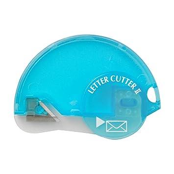 midori letter cutter ii blue 49314006