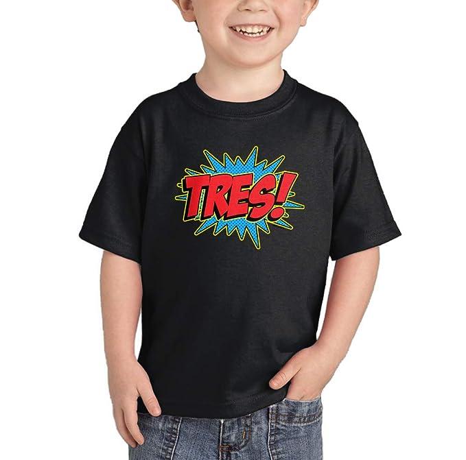 Amazon.com: bebé/Infant Tres Superhero Tercer cumpleaños ...