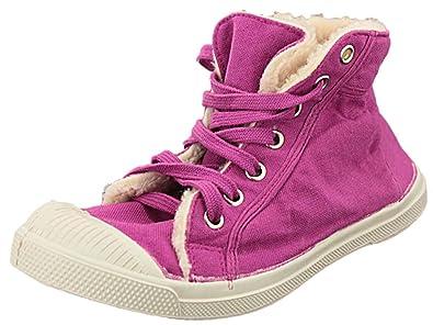 Bensimon - Zapatillas de deporte de caucho para mujer Rose fushia 37: Amazon.es: Zapatos y complementos