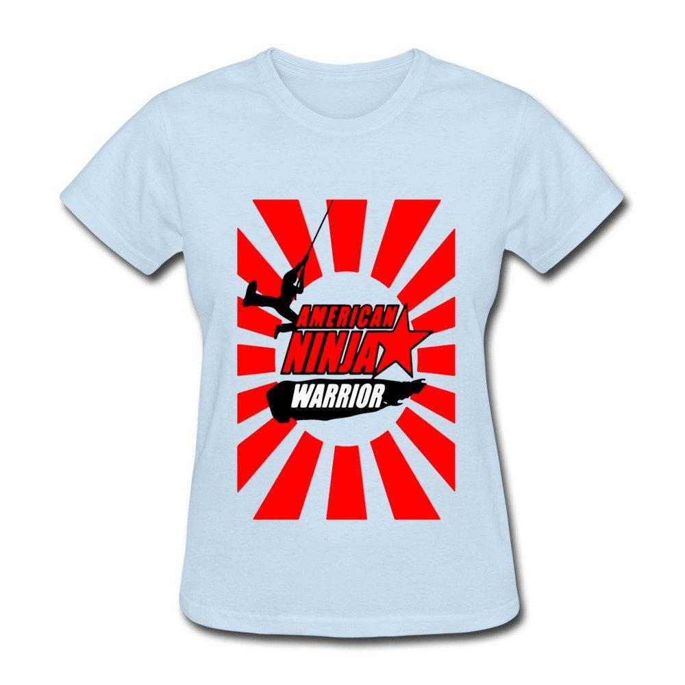 catees Mujer American Ninja Warrior camiseta: Amazon.es ...