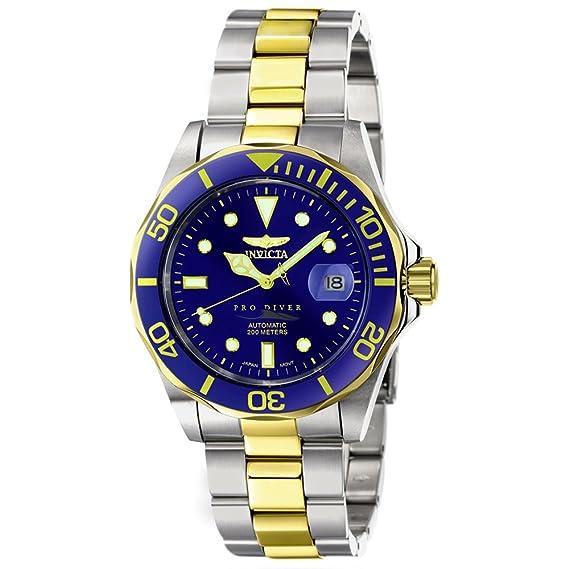 Invicta 4607 - Reloj de Pulsera Hombre, Color Plata