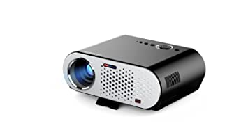 Mini proyector LED GP90 Home HD 1080P Smart 3000 lúmenes, 1280x800 ...