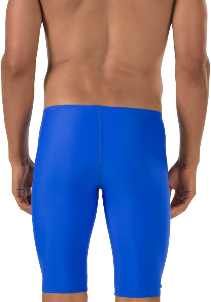 Speedo Navy Power Flex Eco Solid Speedo Speedo Youth Jammer Swimsuit 24