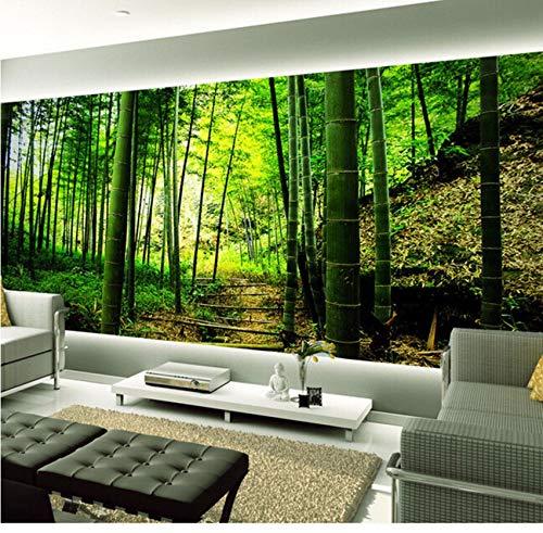 Weaeo カスタム3D壁画美しい夕日林道の風景の背景リビングソファテレビの壁の寝室の壁紙-400X280cm B07H4NJHQD 400X280cm 400X280cm